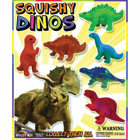 "Squishy Dinos 1"" Toy Capsules 250pcs"