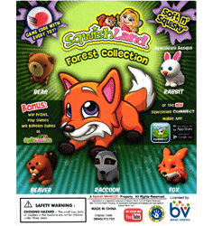 """Sqwishland Forest 1"""" Toy Capsules 250pcs"""