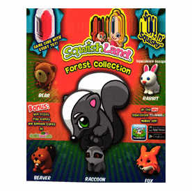 """Sqwishland Forest Collection 1"""" Toy Capsules 250pcs"""