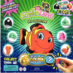 "Sqwishland Sea 2 Toys & Collector Guide in 2"" Toy Capsules 250 pcs"