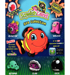 """Sqwishland Sea Collection 1"""" Toy Capsules 250pcs"""