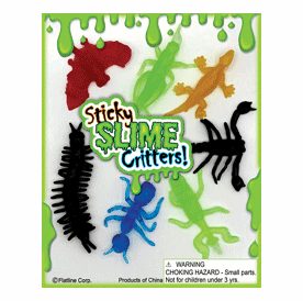 """Sticky Slime Critters 1"""" Toy Capsules 250pcs"""