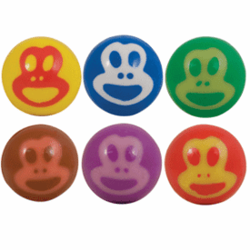 Super Balls 27mm Monkey Face 250 Balls per bag