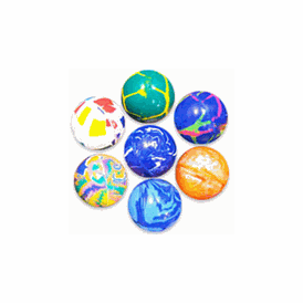 Super Balls 32mm Bright Mix 100 Balls per bag