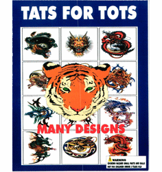 "Tats For Tots1"" Toy Capsules 250pcs"