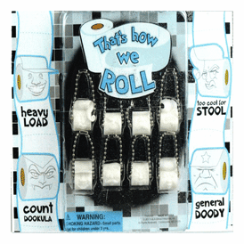 """That's How We Roll Key Chains 2"""" Toy Capsules 250 pcs"""
