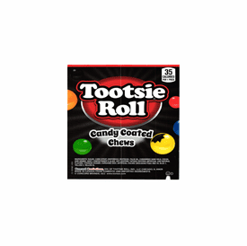 Tootsie Roll Candy Coated Chews 7/8 inch - 1,160 ct