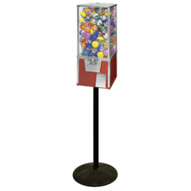 """Toy Capsule Vending Machine - Big Pro 25"""" with Stand"""
