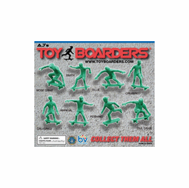 """Toy Skate Boarders 2"""" Toy Capsules 250 pcs"""