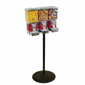 """Triple Tough Pro Gumball Candy Machine """"With Secure Cash Box"""""""