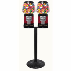 Ultra Classic Double Gumball Candy Machine With Secure Cash Box