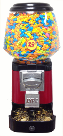 Ultra Classic Gumball Machine With Secure Cash Box