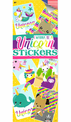 Unicorn Stickers 300pcs
