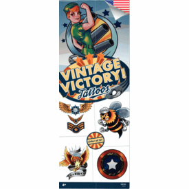 Vintage Victory Tattoos 300pcs