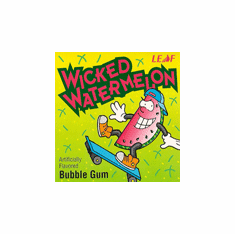 Wicked Watermelon Oak Leaf Gumballs 850ct