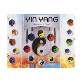 """Yin Yang Necklaces & Rings 2"""" Toy Capsules 250 pcs"""