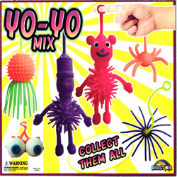 "Yo Yo Mix 2"" Toy Capsules 250 pcs"