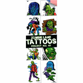 Zombieland Tattoos 300pcs