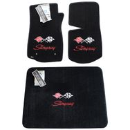 1974-1976 CORVETTE STINGRAY LOGO FLOOR MAT SET