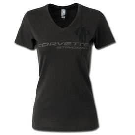 2014-2019 Corvette C7 Stingray Ladies V-Neck Tee Shirt
