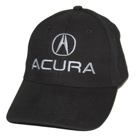 Acura Black Twill Hat