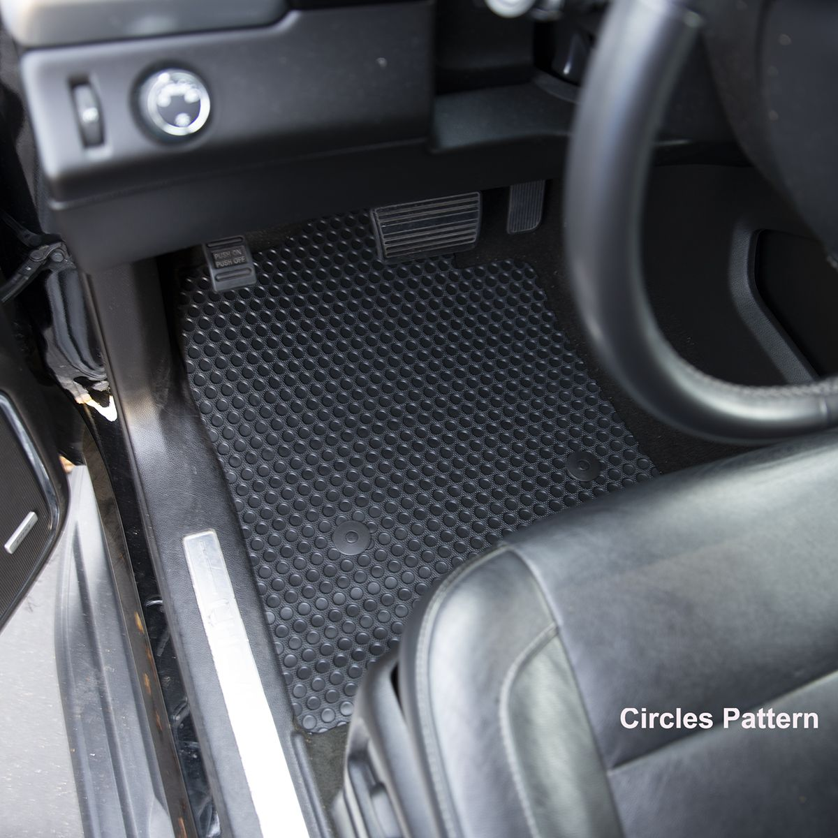 Acura TL Rubber Custom All Weather Rubber Floor Mats