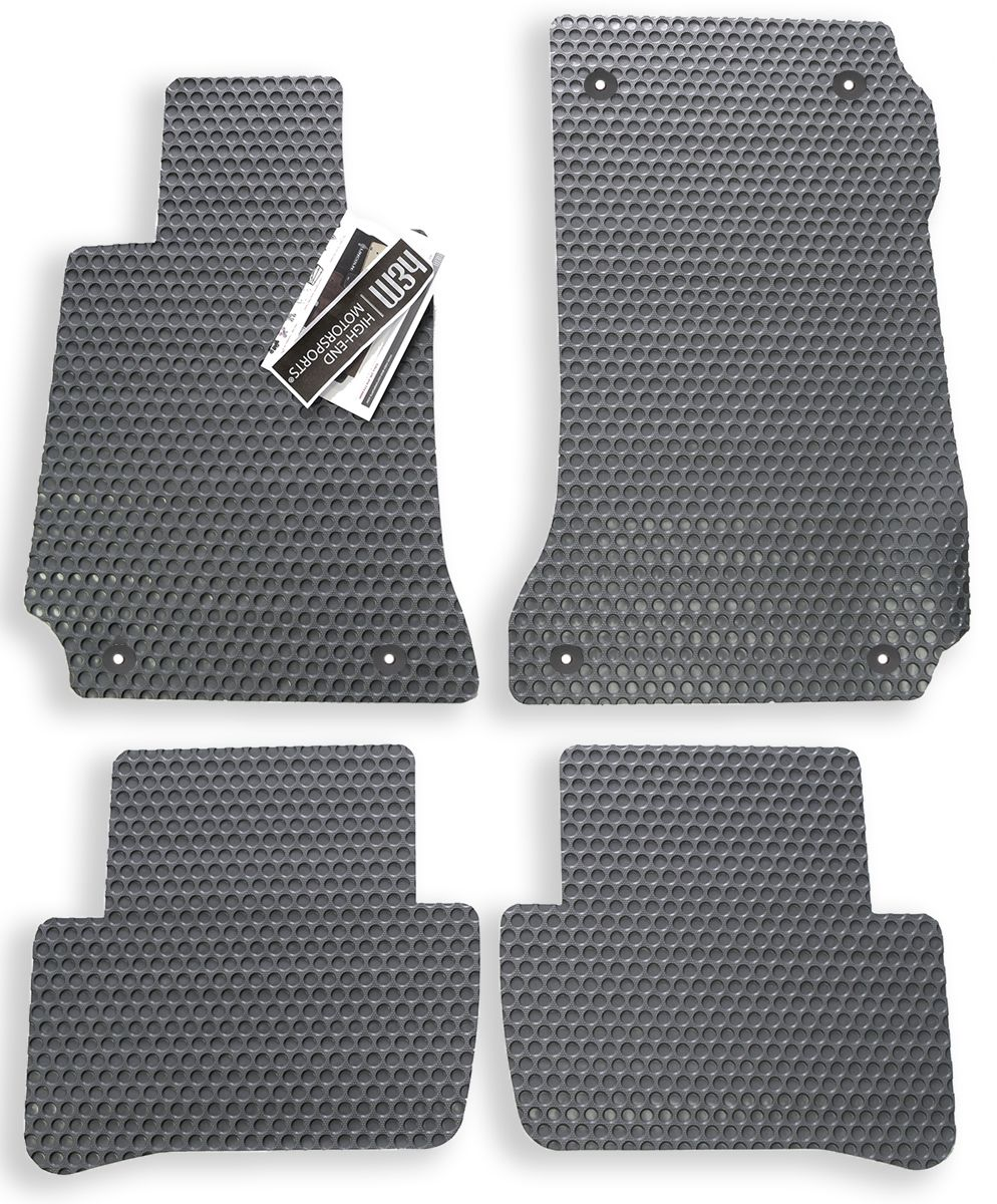 Audi A3 SPORTBACK 04 Tailored Fitted Carpet Car Floor Mats GREY WITH GREY TRIM
