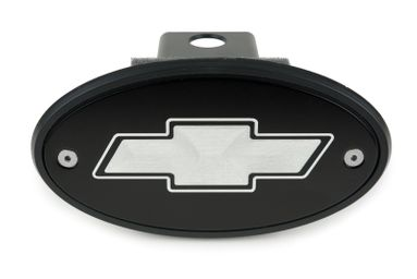 Chevrolet Bowtie Black Hitch Cover