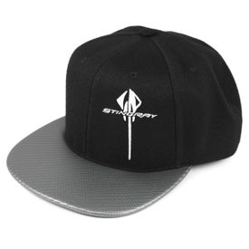 C7 Stingray Side Logo Snapback Black Hat
