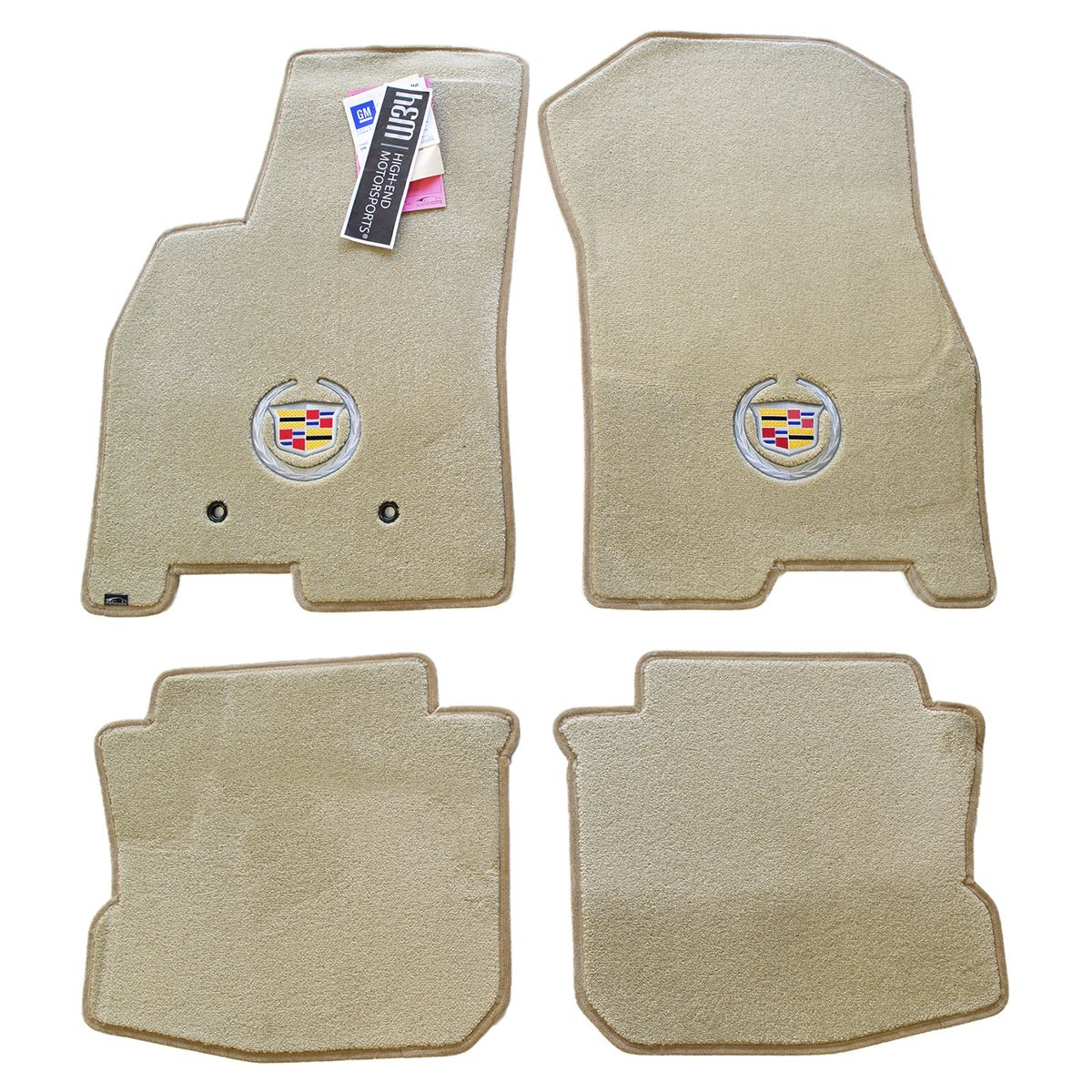 2006-2011 Cadillac DTS FUll set floorMats