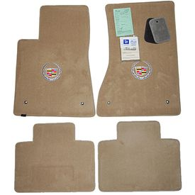 Cadillac STS Cashmere Floor Mats 2005 - 2011