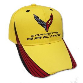 Chevrolet C8 Corvette Racing Hat - Yellow