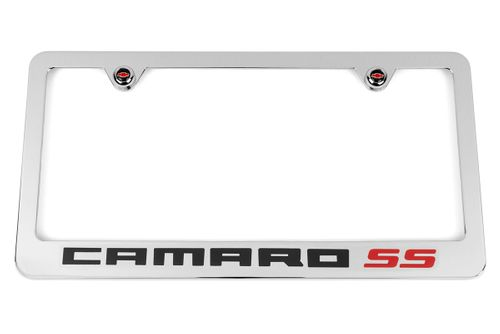 Chevrolet Camaro SS Chrome License Plate Frame