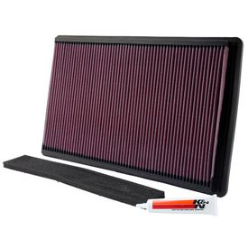 Chevrolet Corvette C4 5.7L High-Flow K&N  Air Filter 1990-1995