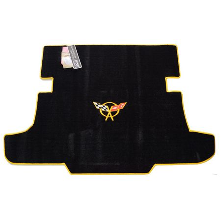 Chevrolet Corvette C5 Cargo Mat 1997-2004 (Yellow Logo)