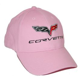 Chevrolet Corvette C6 Pink Twill Hat 2005 - 2013