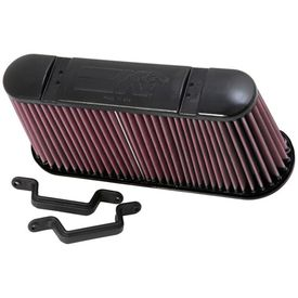 Chevrolet Corvette C6 Z06 7.0L High-Flow K&N  Air Filter 2006-2013