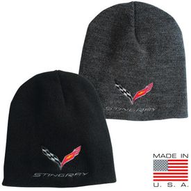 Chevrolet Corvette C7 Beanie - Flags & Stingray