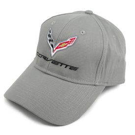 Chevrolet Corvette C7 Hat - Grey