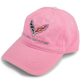 Chevrolet Corvette C7 Ladies Hat -Pink