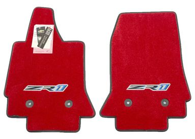 Chevrolet Corvette C7 ZR1 Floor Mats - Adrenaline Red