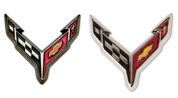 Chevrolet Corvette C8 Flag Lapel Pin