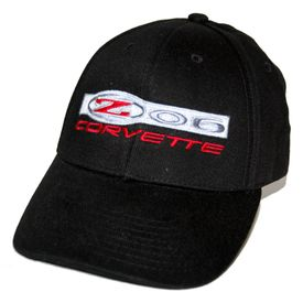Chevrolet Corvette Z06 Black Twill Hat 2006 - 2013