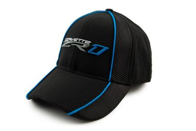 Chevrolet Corvette ZR1 Carbon Fiber Hat - Blue & Sebring Orange