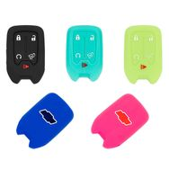 Chevrolet Silverado Solid Silicone Rubber Remote Keyless Cover  2019 2020