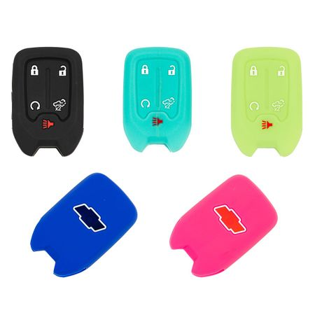 Chevrolet Silverado Solid Silicone Rubber Remote Keyless Cover  2019 - 2021