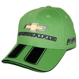 Chevrolet Synergy Green Camaro Hat - SS Rally Stripe