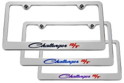 Dodge Classic Challenger R/T Chrome License Plate Frame