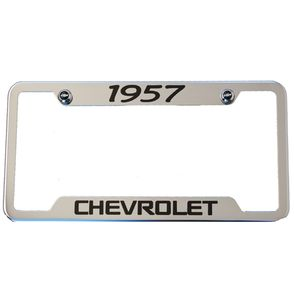 Classic Years Chevrolet Chrome License Plate Frame