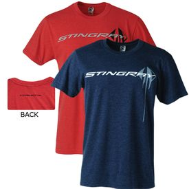 2014-2019 Corvette C7 Stingray Blue or Red Men's Tee Shirt
